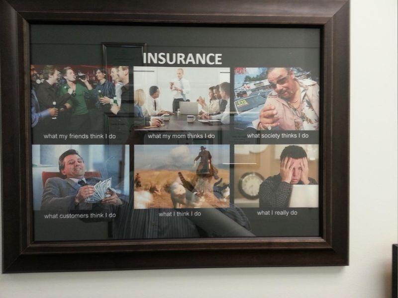 Insurance adviser meme