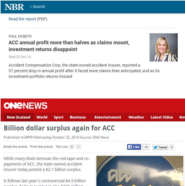 A Big contrast ACC