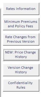 Premium comparison menu buttons